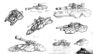 Flowtank Concept Sketches by RyujinDX