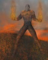 the torcher colossus fire by lifeformgraphics