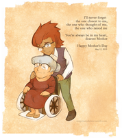 Mother's Day: Older Randall and Mrs. Ascot by MagicianCelemis