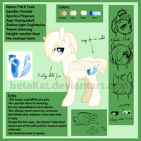Pitch Tuck Ref Sheet by betaKat