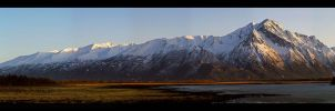 Majestic Peaks - Panoramic by anonymous66