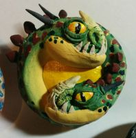 HTTYD: Barf and Belch Medallion by Ryumia