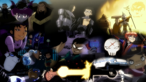 Teen Titans Season 1 Wallpaper by SailorTrekkie92