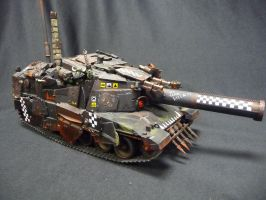 Custom Kill Bursta Tank by Solav