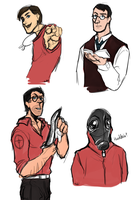 TF2 sketches by breaktown