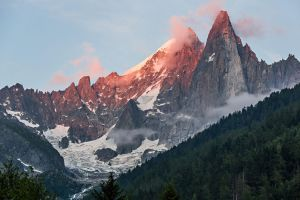 Le Dru and Aiguille Verte. by Captain-Marmote