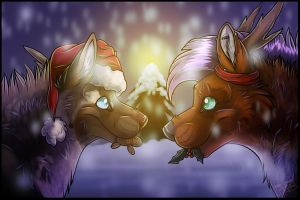 .: Gingerbread Men and Mistletoes :. by SillyTheWolf