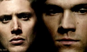 Dean and Sam Wallpaper by monkeyJade
