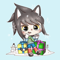 Winter Holiday Piesang by theamazingwrabbit