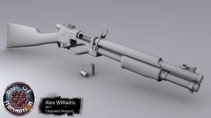 Upgraded Shotgun by LivewireDeviant