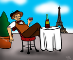 Chillin Out Pierre by JakeMcCormick