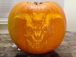 Icon of Sin Pumpkin 2 by ceemdee