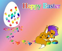 Happy Easter 2010 by MidNight-Vixen