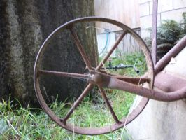 Old Wheel stock by Camalla