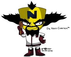Doctor Neo Cortex by trinityweiss
