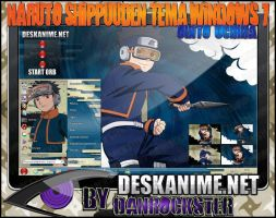 Obito Uchiha Theme Windows 7 by Danrockster