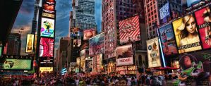 Times Square HDR Panorama by vvmasterdrfan