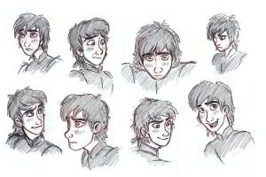 Hiccup Sketch Dump by AriellaMay