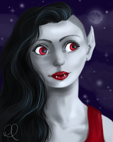 Marceline the Vampire Queen by spockward