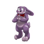 Bonnie Pixel page doll by Creeperchild