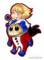 P4 - Teddie by KeyshaKitty