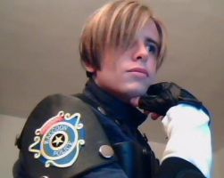 Leon S. Kennedy - Webcam Shot by XenoLink