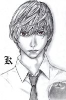 "Light ""Kira"" Yagami by delboysb91"