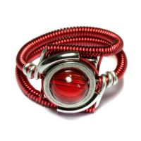 Cyberpunk Red Ring by CatherinetteRings