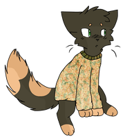 Sweater cat adopt CLOSED by DinowAdopts