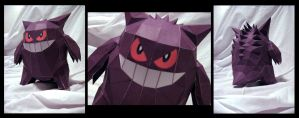 Gengar by MakenXXX