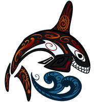 Tribal Orca by Senaru