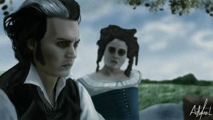 Sweeney Todd Painting 2 by arthurforzus
