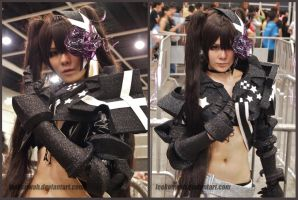 ACG HK 2014 - Black Rock Shooter - IBRS by leekenwah