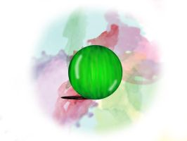Green Marble by Angel-of-Isis