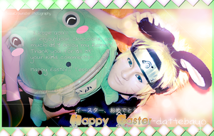 Naruto wishes you a Happy Easter! by TessaCrownster