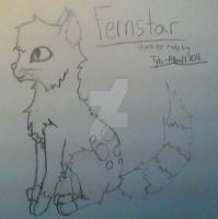 FernStar leader of StreamClan by JaggedFangsTheBear