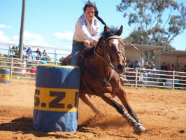 Barrel Race by Barana
