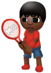 RQ Mario Tennis Open- Kaream Player by Misskatt66