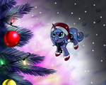 Luna's Christmas by ElectricHalo