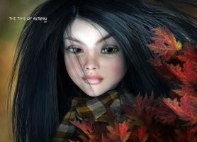 The Time of Autumn by Dani3D