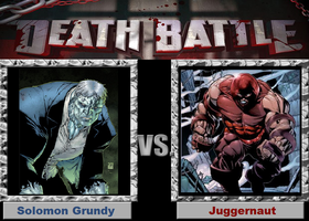 Death Battle (Fan)--Solomon Grundy vs. Juggernaut by XPvtCabooseX