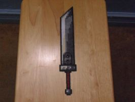 Buster Sword perler by mecharichter