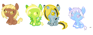 Pony adoptables by ClearLego