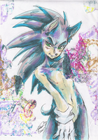 Anthro sonic_colours by f-sonic