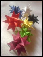 3-D Stars by lonely--soldier