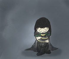 Sad Loki by Candy-Swirl