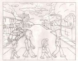 1999: Abbey Road Parody by simpspin
