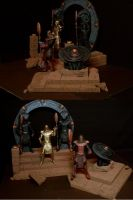 Stargate Offworld Gate and DHD by bob-the-odd