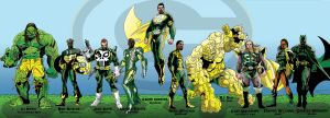 Green Bay Packers XLV Champs by Beauchal