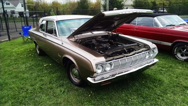 1964 Plymouth Belvedere Front by xKnightrousx